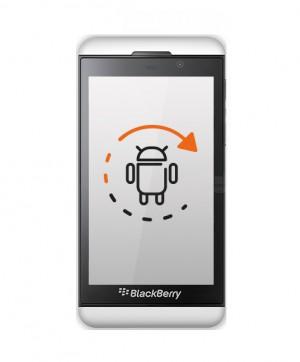 Software Aktualisierung - Blackberry Z30